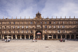 Plaza Mayor in Salamanca, UNESCO World Heritage Site, Castile and Leon, Spain, Europe Photographic Print by Julian Elliott