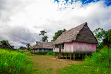 Amazon Village, Iquitos, Peru, South America Photographic Print by Laura Grier