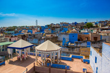 Rooftops in Jodhpur, the Blue City, Rajasthan, India, Asia Photographic Print by Laura Grier
