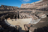 Remains of the Colosseum of Rome Built around 70Ad, Allegedly the Largest Ever Built Photographic Print by Ethel Davies