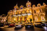 Casino at Night, Monaco, Europe Photographic Print by Laura Grier