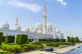 Sheikh Zayed Grand Mosque, Abu Dhabi, United Arab Emirates, Middle East Photographic Print by Fraser Hall