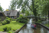 Tourists on the Canal at Giethorn, Holland, Europe Photographic Print by James Emmerson