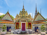 Wat Pho (Temple of the Reclining Buddha), Bangkok, Thailand, Southeast Asia, Asia Photographic Print by Jason Langley