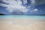 Fine White Sand Surrounded by the Turquoise Water of the Caribbean Sea, the Nest, Antigua Photographic Print by Roberto Moiola