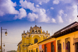 Street View in Antigua, Guatemala, Central America Photographic Print by Laura Grier