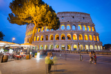 Colosseum, UNESCO World Heritage Site, Rome, Lazio, Italy, Europe Photographic Print by Frank Fell
