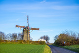 Van Tienhovenmolen Windmill, Bemelen, Limburg, Netherlands, Europe Photographic Print by Jason Langley