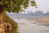 Banks of Stung Sen River, Kompong Thom (Kampong Thom), Kompong Thom Province, Cambodia, Indochina Photographic Print by Nathalie Cuvelier