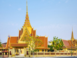 Cambodian Supreme Court, Phnom Penh, Cambodia, Indochina, Southeast Asia, Asia Photographic Print by Jason Langley