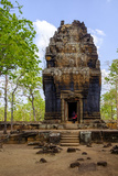 Temple of Prasat Neang Khmau, Dated 9th to 12th Century, Temple Complex of Koh Ker Photographic Print by Nathalie Cuvelier