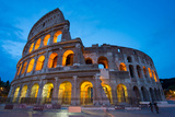 The Colosseum, UNESCO World Heritage Site, Rome, Lazio, Italy, Europe Photographic Print by Frank Fell