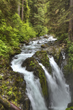 Sol Duc Falls, Olympic National Park, UNESCO World Heritage Site Photographic Print by Richard Maschmeyer