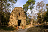 N7 Tower, Sambor Prei Kuk, South Group Temples Photographic Print by Nathalie Cuvelier