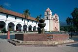 Mission Santa Barbara, Founded 1786, Santa Barbara, California, United States of America Photographic Print by Ethel Davies