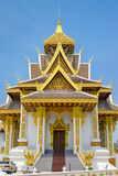 Vientiane City Pillar Shrine, Vientiane, Laos, Indochina, Southeast Asia, Asia Photographic Print by Jason Langley