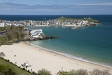 Porthminster Beach and Harbour, St. Ives, Cornwall, England, United Kingdom, Europe Photographic Print by Stuart Black