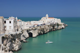 Punta San Francesco and Old Town, Vieste, Gargano, Foggia Province, Puglia, Italy, Europe Photographic Print by Markus Lange