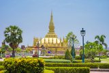 Pha That Luang Golden Stupa, Vientiane, Laos, Indochina, Southeast Asia, Asia Photographic Print by Jason Langley