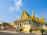 Throne Hall (Preah Thineang Dheva Vinnichay) of the Royal Palace, Phnom Penh, Cambodia Photographic Print by Jason Langley