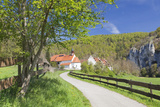 St. Georg Chapel, Kaeppeler Hof, Thiergarten, Danube Valley in Spring, Upper Danube Nature Park Photographic Print by Markus Lange