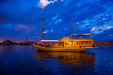 Phinisi Fishing Boat, Flores Island, Indonesia, Southeast Asia, Asia Photographic Print by Laura Grier