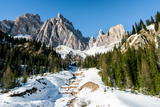 The Italian Dolomites, Italy, Europe Photographic Print by Karen Deakin