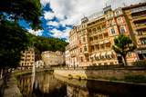 The Village of Karlovy Vary, Bohemia, Czech Republic, Europe Photographic Print by Laura Grier
