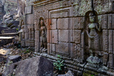 Preah Khan of Angkor, Built in 1191 by King Jayavarman Vii, Angkor Photographic Print by Nathalie Cuvelier
