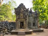 Ta Prohm Temple (Rajavihara), Angkor, UNESCO World Heritage Site, Siem Reap Province, Cambodia Photographic Print by Jason Langley