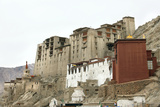 Palace in Leh with Lamo House Below. Ladakh, India, Asia Photographic Print by Thomas L