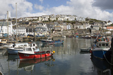 Fishing Boats in Fishing Harbour, Mevagissey, Cornwall, England, United Kingdom, Europe Photographic Print by Stuart Black