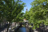Canal Scene in Edam, Holland, Europe Photographic Print by James Emmerson