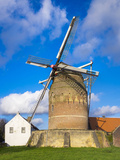 Tower Mill of Gronsveld (Torenmolen Van Gronsfeld) Windmill, Vroendaal, Maastricht Photographic Print by Jason Langley