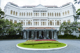 The Famous Raffles Hotel, a Singapore Landmark, Singapore, Southeast Asia, Asia Photographic Print by Fraser Hall