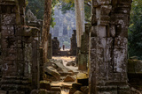 Temple of Prasat Thom (Prasat Kompeng), Dated 9th to 12th Century, Temple Complex of Koh Ker Photographic Print by Nathalie Cuvelier