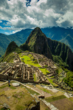 View of Machu Picchu Ruins, UNESCO World Heritage Site, Peru, South America Photographic Print by Laura Grier