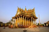 Vat Kor Temple, Battambang, Battambang Province, Cambodia, Indochina, Southeast Asia, Asia Photographic Print by Nathalie Cuvelier