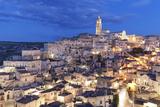Sasso Barisano and Cathedral, UNESCO World Heritage Site, Matera, Basilicata, Puglia, Italy, Europe Photographic Print by Markus Lange