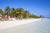 Playa El Paso, Cayo Guillermo, Jardines Del Rey, Ciego De Avila Province, Cuba Photographic Print by Jane Sweeney