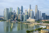 Singapore Skyline Photographic Print by Fraser Hall