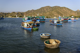 The Fishing Port, Phan Rang, Ninh Thuan Province, Vietnam, Indochina, Southeast Asia, Asia Photographic Print by Nathalie Cuvelier