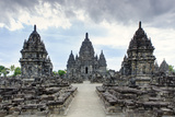 Sewu Temple Near Prambanan, Java, Indonesia, Southeast Asia, Asia Photographic Print by Alex Robinson