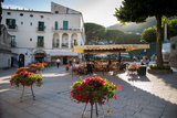 Piazza Centrale, Ravello, Campania, Italy, Europe Photographic Print by Frank Fell