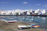 Fishing Boats at Charco San Gines Laguna, Arrecife, Lanzarote, Canary Islands, Spain Photographic Print by Markus Lange