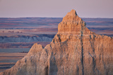Badlands at Dawn, Badlands National Park, South Dakota, United States of America, North America Photographic Print by James Hager