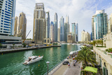 Dubai Marina, Dubai, United Arab Emirates, Middle East Photographic Print by Fraser Hall