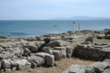 The Phoenician Roman Port of Tharros, Sardinia, Italy, Mediterranean, Europe Photographic Print by Oliviero Olivieri