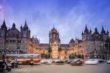 Chhatrapati Shivaji Terminus (Victoria Terminus), UNESCO World Heritage Site Photographic Print by Alex Robinson