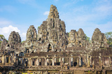 Prasat Bayon Temple Ruins, Angkor Thom, UNESCO World Heritage Site, Siem Reap Province, Cambodia Photographic Print by Jason Langley
